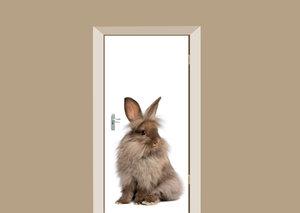 Deursticker konijn