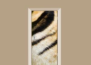 Deursticker tijgerprint