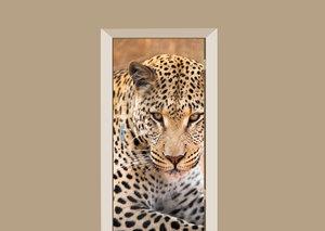 Deursticker luipaard