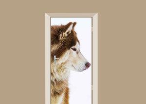 Deursticker Alaskan wolf