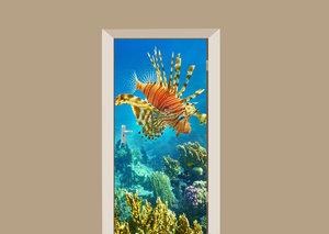 Deursticker koraalduivel