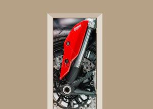 Deursticker motor Ducati