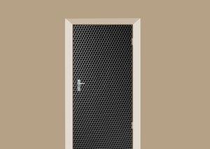 Deursticker speaker