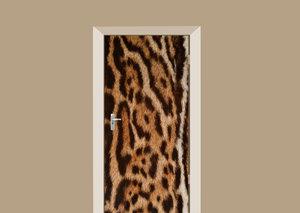 Deursticker vacht jaguar