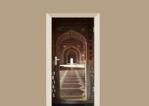 Deursticker Taj Mahal