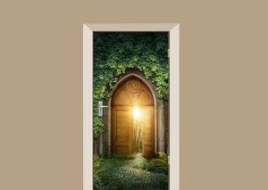 Deursticker mysterieuze ingang