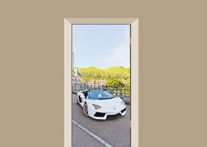 Deursticker Lamborghini Hong Kong