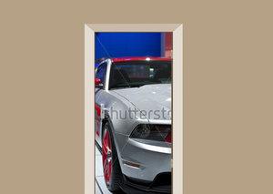 Deursticker auto Ford Mustang