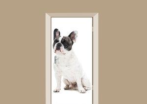 Deursticker Franse bulldog