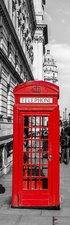 SALE: Muursticker/deursticker telefooncel in Londen 43x205cm (BxL)