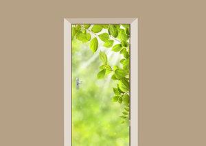 SALE: Muursticker/deursticker voorjaar 45x200cm (BxL)