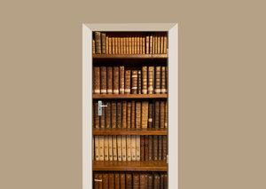 Deursticker boekenkast