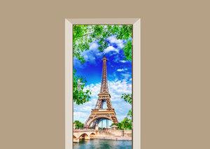 Deursticker Eiffeltoren