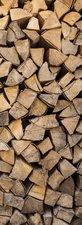SALE: Deursticker houtblokken 68x200cm (BxL)