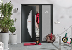 Voordeur sticker met huisnummer 10.8