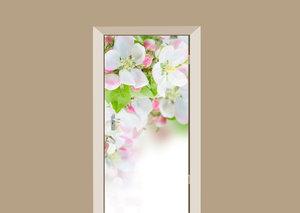 Deursticker appelboom bloesem
