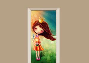 Deursticker fairy
