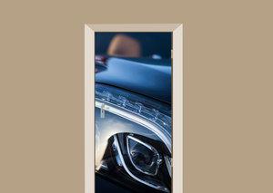 Deursticker auto licht