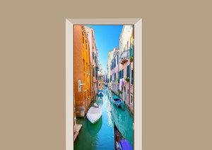 Deursticker Venetië