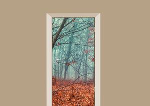 Deursticker herfst