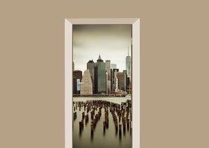 Deursticker Manhattan
