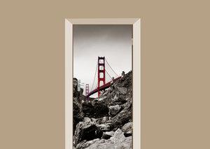 Deursticker Golden Gate Bridge