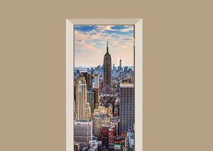 Deursticker New York City