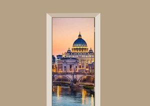 Deursticker Rome St Peter's Basilica
