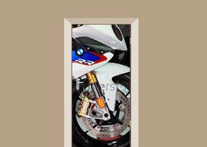 Deursticker motor BMW