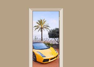 Deursticker auto Lamborghini Costa Brava