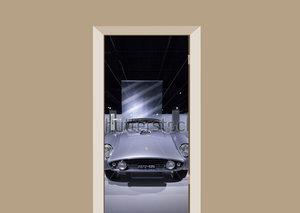 Deursticker auto Ferrari 1954