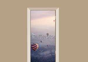 Deursticker luchtballonnen Turkije
