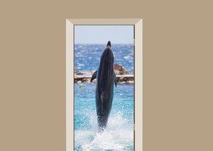 Deursticker dolfijn