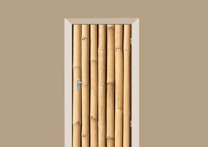 Deursticker bamboe