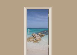 Deursticker Caribische zee