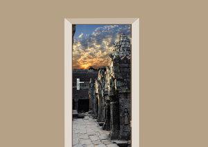 Deursticker Angkor Wat Cambodja