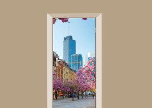 Deursticker Frankfurt voorjaar