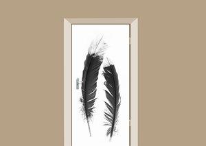 Deursticker indianen veren