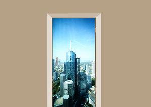 Deursticker Frankfurt gebouwen