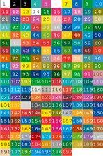 Deursticker kleurenkaart groot