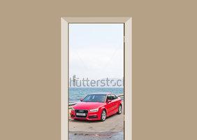 Deursticker auto Audi Q3