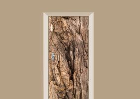Deursticker boomschors bruin