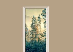 Deursticker bos
