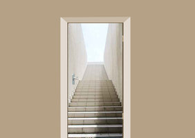 Deursticker trappengang