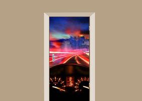 Deursticker auto dashboard