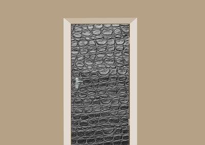deursticker dierenprint krokodillenprint