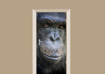 Deursticker chimpansee