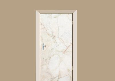 deursticker tegels en stenen marmer