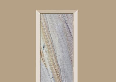 deursticker tegels en stenen marmer grijs