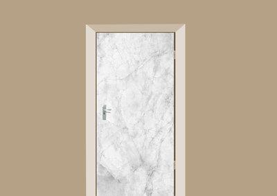 deursticker tegels en stenen marmer wit